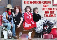 Booth Crush: Special Guest Petticoats on the Prairie Rodeo Queen, Great Week, West Texas, Petticoats, Special Guest, Cowboy Hats, Christmas Sweaters, Display Ideas, Queens