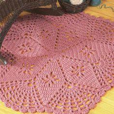 Leisure Arts - Lacy Star Rug Crochet Pattern ePattern, $2.99 (http://www.leisurearts.com/products/lacy-star-rug-crochet-pattern-digital-download.html)