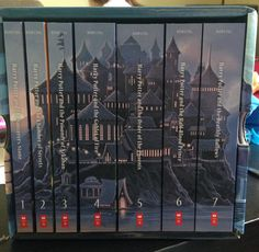 Look what Santa brought!!! Harry Potter 😁