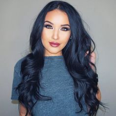 207 Best Jet Blue Black Hair Styles Images On Pinterest In 2019