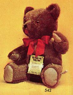 Mohair Bear - small | Mary Meyer Vintage