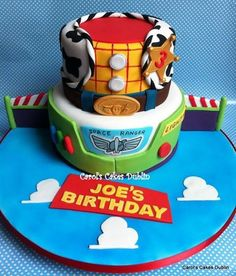 Toy story cake ... Just the bottom