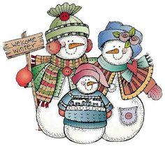 La familia de Frosty   facilisimo.com