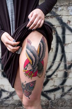 Eagle Tattoo Designs and Ideas Forearm Tattoo Design, Skull Tattoo Design, Tattoo Design Drawings, Tribal Tattoo Designs, Tattoo Old School, Old School Tattoo Designs, Life Tattoos, Body Art Tattoos, Chest Piece Tattoos