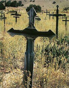 Eliot Porter, New Mexico cemetery