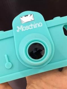 Blue Camera Moschino iphone 5 case