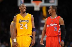 Kobe And Chris Paul Talked About The Number Of Titles They'd Win Before The Voided Trade Los Angeles Clippers, Los Angeles Lakers, Nba Players, Basketball Players, Nba Scores, Chris Paul, Sports Headlines, Basketball Association, Sports Memes