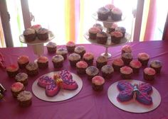 Fairy Birthday cakes and cupcakes