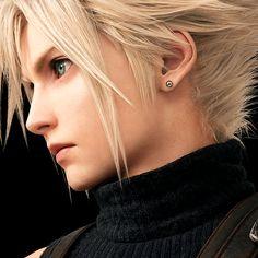 Final Fantasy Cloud, Final Fantasy Characters, Final Fantasy Artwork, Final Fantasy Vii Remake, 3d Fantasy, Fantasy Series, Fantasy World, Cloud And Tifa, Cloud Strife