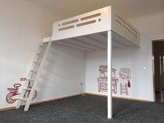 Design Hochbett, Hochetage weiß in Berlin