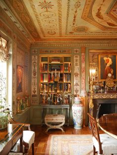 Howard Slatkin's NYC dining room