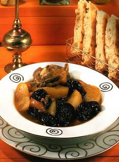 """Algerian Food """"Lham lahlou"""" . sweet dried fruits' Broth .You may find this at khaogali.com"""