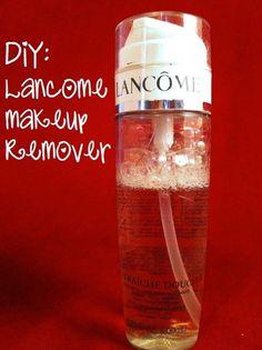easy DIY: Lancome makeup remover