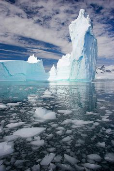 Ice temple by John Chapman