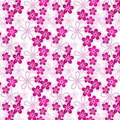 ISLAND PINKS! - © PinkSodaPop 4ComputerHeaven . com fabric by pinksodapop on Spoonflower - custom fabric