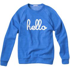 Hello Champ Pullover Blue