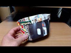 新聞紙で作る便利袋 - YouTube