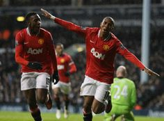 Ashley Young's 2nd vs Spur 050312  a master curve ball