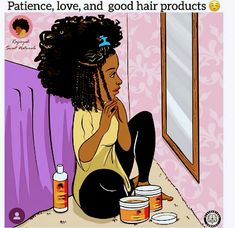 Bombtress provides only the best Brazilian virgin hair cut from donor. Hair bundles, lace closure, lace frontal and lace wigs are best selected for all the bombshells. Bombtress is a one stop shop . Black Girl Cartoon, Black Girl Art, Black Women Art, Black Girl Magic, Art Girl, Black Girls, Natural Hair Art, Natural Hair Journey, Natural Hair Styles