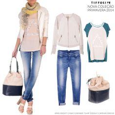 TIFFOSI - Nova Coleção Primavera 2014 #tiffosi #tiffosidenim #newcollection #novacoleção #denim #primavera #spring #newin #woman  Jeans: http://www.tiffosi.com/mulher/calcas-de-ganga/calcas-de-ganga-jenny-skinny-19526.html Casaco: http://www.tiffosi.com/mulher/casacos/casaco-21511.html T-Shirt: http://www.tiffosi.com/mulher/t-shirts-e-tops/t-shirt-s-s-s-bege-19953.html Carteira: http://www.tiffosi.com/mulher/acessorios/carteira-18044.html