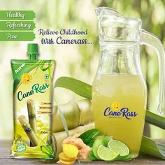 """"""" The tasty sweetness of nature now in a packet """" Canerass has natural sugar which is healthy and refreshing. Canerass will energize and refresh you naturally. In short, it's your favorite tasty, healthy and hygienic desi juice. Sugarcane Juice, Natural Sugar, Healthy Nutrition, Country Living, Desi, Tasty, Pure Products, Ethnic Recipes, Nature"""