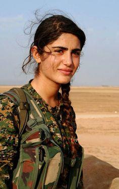 Kurdish YPG Fighter by Kurdishstruggle http://flic.kr/p/Beq1bB