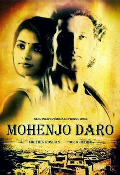 The first look of the Hrithik Roshan starrer movie 'Mohenjo Daro' is out. Alongside Roshan will be the actress Pooja Hegde.