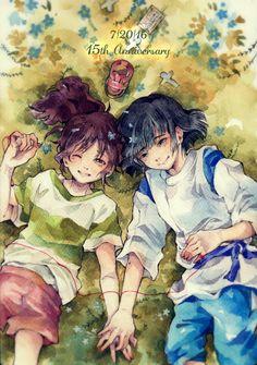 Haku×Chihiro-my waifu forever!!!