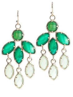 Scoop Nyc | Kendra Scott :: Tierney Tear Drop Earrings :: Women - Jewel Tones - Trends