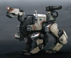concept robots: Concept robot illustrations by Galan Pang