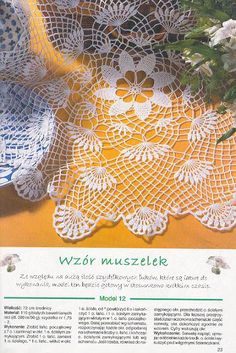 Kira scheme crochet: Scheme crochet no. Crochet Shawl Free, Crochet Pillow Pattern, Crochet Headband Pattern, Crochet Cardigan Pattern, Crochet Mandala, Irish Crochet, Crochet Patterns, Crochet Curtains, Crochet Tablecloth