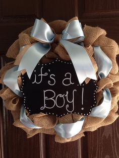 Welcome Baby Wreath By SimplySouthernNC On Etsy, $50.00