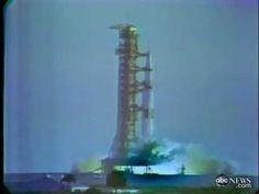 APOLLO 8, relive the fantastic launch on TV, ABC News coverage, Dec. 21,1968