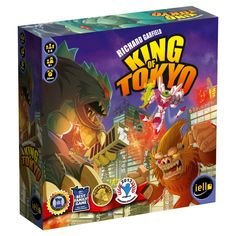 """King of Tokyo"" - Board Game"