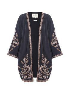 ethno hippie kimono