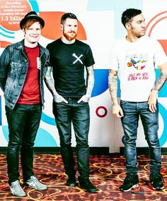 Patrick, Andy & Pete