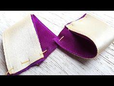 DIY RIbbon Craft Ideas - YouTube Handmade Hair Bows, Diy Hair Bows, Diy Bow, Bow Hair Clips, Ribbon Art, Diy Ribbon, Ribbon Crafts, Ribbon Bows, Diy Hair Accessories Ribbon