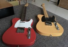 Fender '64 and '52 AVRI Telecasters