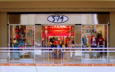 I was THRILLED when this store opened at our mall. They carried size 00 so I could finally stop wearing little kids clothes. Haha!