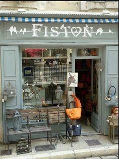 Vintage shop front.