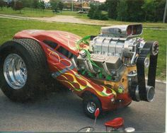 "Like Ed ""Big Daddy"" Roth. I could see Rat Fink driving this."