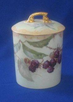 Tressemann & Vogt Porcelain Condensed Milk  Jar