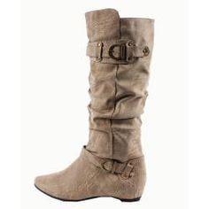 Blossom by Beston Women's 'Amar-34' Knee High Boots