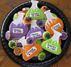 Potion Bottle Cookies