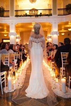 Dimmed Romantic Lighting for a glamorous candle lit winter wedding  photos  by Blue Rose Photography 57665c845ee