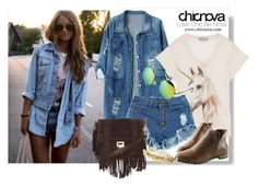 """""""Chicnova 4"""" by gaby-mil ❤ liked on Polyvore featuring Chicnova Fashion, Wildfox, Proenza Schouler, Betsey Johnson, vintage and chicnova"""