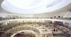 Herzog & de Meuron Share New Images of the National Library of Israel,Courtesy of Herzog & de Meuron