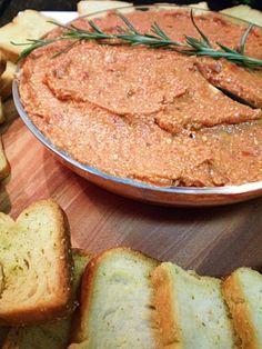 Pastas de tomates secos  com alecrim