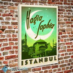 İstanbul Aya Sofya Tablo #kanvas_tablo