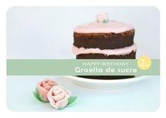 Graella de Sucre: NAKED CAKE (per celebrar el segon aniversari del bloc)